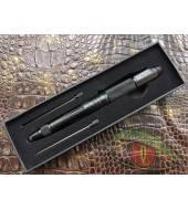 Тактическая ручка Laix В006.2 с ножем, стеклобоем, стилусом длина 150мм