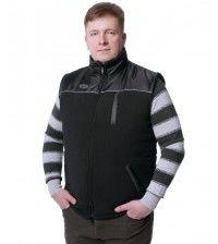 Жилет флисовый утепленный DUCK EXPERT ТУРИСТ черный