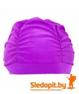 Шапочка для плавания Duck Expert Лотос женская пурпурная