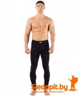 Термоштаны мужские Lasting Atok из шерсти Merino wool 160g Light черные