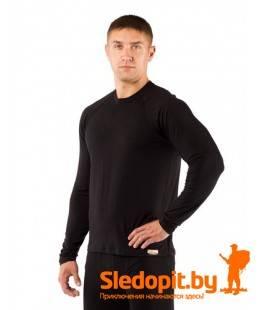 Термофутболка мужская Lasting Atar из шерсти Merino wool 160g Light черная