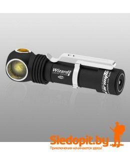 Налобный фонарь Armytek Wizard Pro v3 Magnet USB Nichia Led 1400 люмен c АКБ теплый