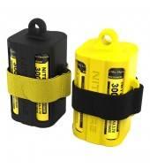 Магазин для хранения аккумуляторов Nitecore NBM40 18650 желтый