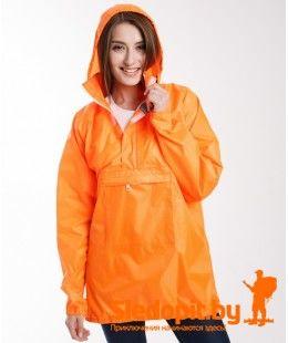 Велокуртка непромокаемая DUCK EXPERT БРИЗ оранжевая
