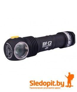 Налобный фонарь Armytek Elf C2 Micro-USB+18650 Li-Ion на теплом диоде 980 люмен