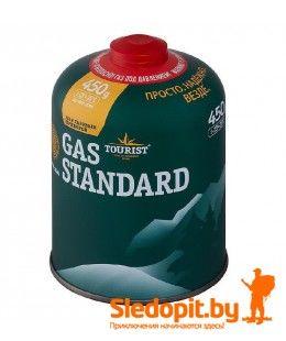Газовый баллон ТУРИСТ 450г