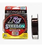 Леска тонущая Konger Steelon FC Match 150м 0.12мм-2.40кг