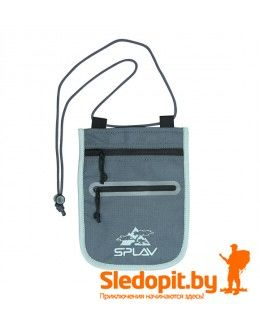 Кошелек туристический шейный DEXTER SPLAV черный