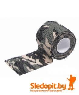Камуфляжная лента Savotta Camo Elastic Bandage лесной камуфляж 5см*4,5м