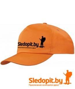 Бейсболка Sledopit.by оранжевая