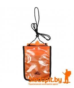Гермокошелек влагозащитный нагрудный XL SPLAV оранж