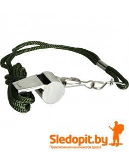 Свисток металлический со шнурком SPLAV