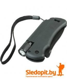 Набор для выживания PERIL TRACK нож-огниво-фонарик-свисток