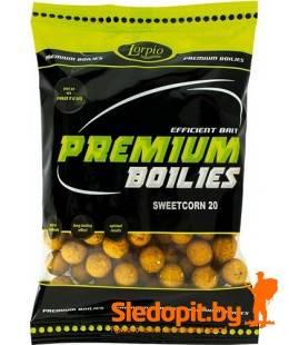Бойлы Lorpio протеиновые 20мм вкус сладкая кукуруза упаковка 200г
