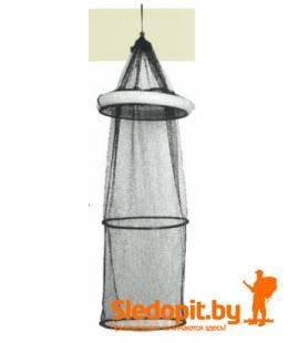 Садок с поплавком Konger с обручами 1м диаметр 35см