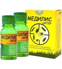 Медилис ЦИПЕР концентрат 2х50мл - средство от клещей, комаров, тараканов, вшей