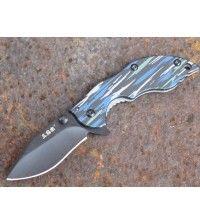 Нож Sanrenmu 6026LUI-SG серии EDC лезвие 52мм