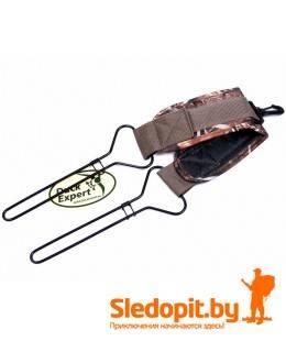 Переноска для дичи DUCK EXPERT Камо рамная с карабином