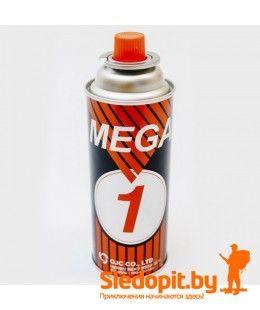 Газовый баллон MEGA 1 220г универсальный газ Южная Корея