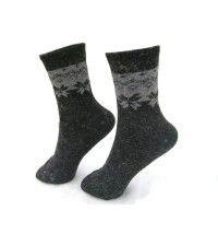 Носки женские NOVA 8869 утепленные полосатые