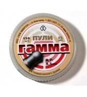 Пульки пневматические Квинтор Гамма 0.7 4.5мм 300шт 0.7г