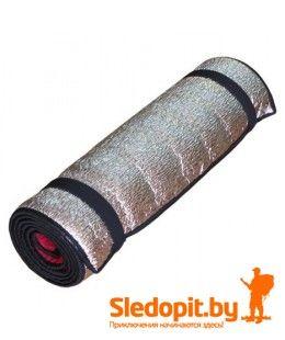 Коврик туристический Зубрава 1.8х0.5м рулонный  фольгированный 6мм