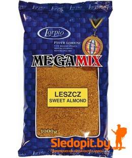 Прикормка для леща сладкий миндаль Lorpio серия Mega Mix 1кг