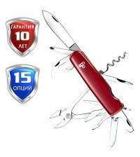 Нож Ego A01.11 красный