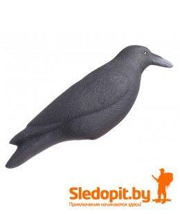 Чучело черной вороны без опоры