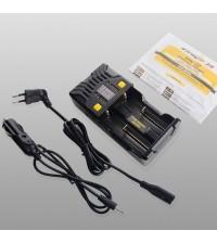 Автоматическое зарядное Armytek Uni C2 Plug Type C