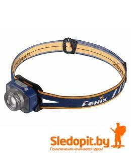 Налобный фонарь Fenix HL40R XP-L HI V2 600 люмен синий регулируемый фокус