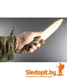 Бамбуковый нож с серейтером