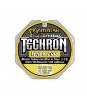 Леска плетеная Kamatsu Techron Yellow Fluo 150м 0.14мм-11кг