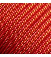 Репшнур TENDON 4мм оранжевый+жёлтый