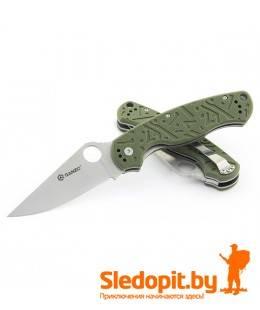 Нож Ganzo G7301 Green лезвие 88мм