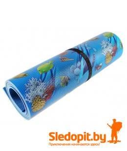 Коврик туристический ижевский Изолон 1.8x0.55м рулонный 8мм океан
