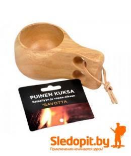 Деревянная традиционная финская кружка кукса SAVOTTA kuksa