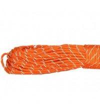Паракорд 550 оранжевый светоотражающий