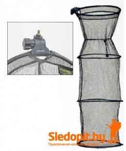 Садок Konger с обручами с держателем 1.5м диаметр 40см