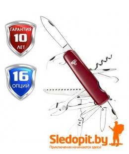 Нож Ego A01.12 красный