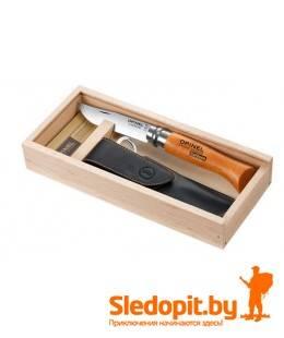 Подарочный нож Opinel 8 нержавеющая сталь с чехлом в коробке