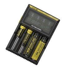 Автоматическое универсальное зарядное устройство NiteCore Digicharger D4