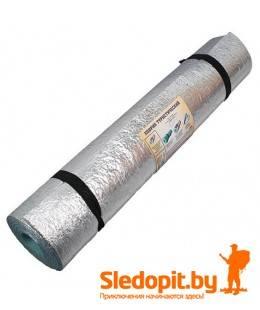 Коврик туристический ижевский фольгированный Изолон S8 1.8x0.6м рулонный 8мм