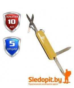 Нож Ego A03 брелок желтый