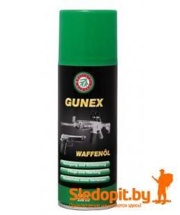 Масло оружейное Ballistol Gunex 2000 спрей 200мл