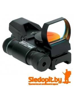 Коллиматор SightMark SM13002 с ЛЦУ на Weaver 4 марки