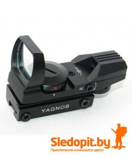 Коллиматор Yagnob HD101 на планку 11мм ласточкин хвост 4 марки