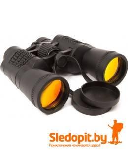 Бинокль Yagnob 7x50 черный со светофильтром пылевлагозащищенный
