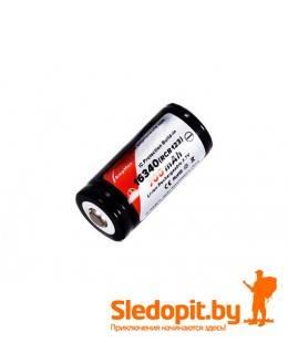 Аккумулятор AmpMax 16340 RCR123A Li-ion 700 мАч 3.7В  защищенный