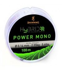 Леска Browning Hybrid Power Mono 100м 0.22мм-5кг